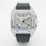 Cartier Santos 100 Mens Watch W20073X8 54335 2