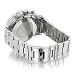 Fully Iced Out Real Diamond Mens Watch Swiss Qua-2