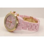 Aqua Master Ladies Ceramic Diamond Watch 1.25ctw W1153 2
