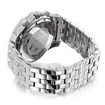 Raptor Iced Out Mens Diamond Bezel Band And Watc-2