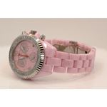 Aqua Master Ladies Ceramic Diamond Watch 1.25ctw W115 2