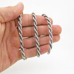 925 Sterling Silver Italian Chain 18 inches long and 5mm wide GSC86 4