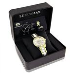 Luxurman Ladies Real Diamond Ceramic Wat 90205 4