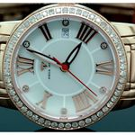 Ladies Classic Diamond Aqua Master Watch Rose w319b 2