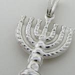 Candle menorah silver pendant SB58 29mm  72930 2