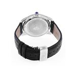 Men's Classic 1.70Ct Diamond Watch With Blac-2