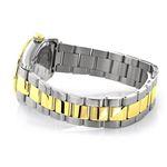 Ladies Luxurman Tribeca Two Tone Genuine Gold Plated Real Diamond Watch 1.5ct 2