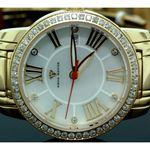 Ladies Classic Diamond Aqua Master Watch Yellow w319e 2