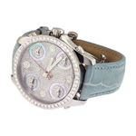 Jacob Co. Blue Band Mid-Size Five Time Zone 3.70-2
