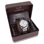 Centorum Large Mens Real Diamond Watch 0 89690 4
