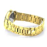 Iced Out Ladies Real Diamond Yellow Gold Plated Watch 1.5ct Tribeca by Luxurman 2