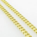 Mens .925 Italian Sterling Silver Cuban Link Chain Length - 36 inches Width - 3mm 4