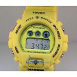 Aqua Master Shock Digital Watch Yellow 2