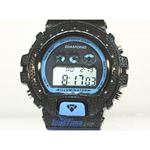 Aqua Master Shock Diamond Mens Black Watch gd4 2