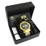 Phantom Mens Large Real Diamond Watch Ye 91029 4