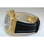 Aqua Master Yellow Gold Mens Diamond Watch Blue Accent Dial 2