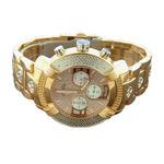 45Mm Round 20 Diamonds Rose Gold Case Watch-2