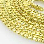 Mens .925 Italian Sterling Silver Cuban Link Chain Length - 36 inches Width - 3mm 2