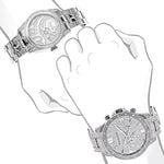 Matching His And Hers Watches: Iced Out Diamond-4