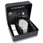 Luxurman Mens Three Chronograph Watches  90448 4