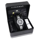 Ladies Montana Real Diamond Watch by Lux 89986 4