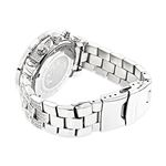 Ladies Large Iced Out Diamond Watch 1.5Ctw By Mo-2