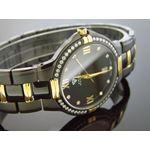 Mens Swiss 40Mm 1.00Ct 40 PCS Diamonds Watch Bl;-2