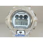 Aqua Master Shock Diamond Mens White Watch gd1 2