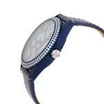 Jacob Co. Swiss Unisex 40MM Blue Band Case Diamo-2
