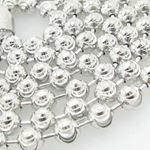 Mens .925 Italian Sterling Silver Moon Cut Link Chain Length - 36 inches Width - 5mm 2