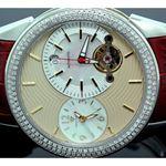 Mens Aqua Master Diamond Automatic Red W 55777 2