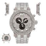 Diamond Men's Watch - BROADWAY Silver 5 Ctw-2