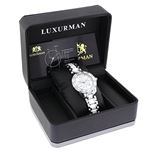 Ladies Genuine Diamond Ceramic Watch 1.2 90200 4