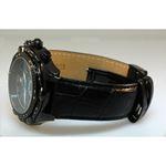 Aqua Master Mens Diamond Black PVD case watch 0.15ctw Blue Dial 2