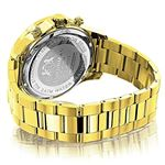 Luxurman Liberty Yellow Gold Plated Genu 90257 2