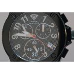 Men's Black Swiss Made Watch-2