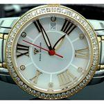 Ladies Classic Diamond Aqua Master Watch 55800 2