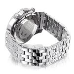 Iced Out Mens Diamond Watch By LUXURMAN 1Ct Blac-2