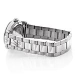 Tribeca Womens Real Diamond Bezel and Band Watch 3ct Platinum Plated by Luxurman 2