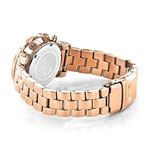 Oversized Ladies Diamond Watch Rose Gold Plated-2
