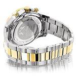 Mens Diamond Watches Two Tone 18K White Yellow G-2