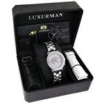 Luxurman Ladies Real Diamond Watch 0.3ct 90224 4