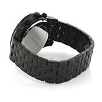 Black Genuine Diamond Watches: Luxurman Phantom Heavy Mens Watch 2.25ct 2