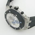 Audemars Piguet Offshore White Dial Chronograph Mens Watch 25940SK.OO.D002CA.02 4