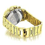 Fully Iced Out Mens Diamond Watch 3Ctw Of Diamon-2