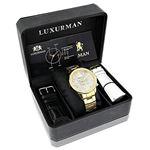 Luxurman Liberty Mens Genuine Diamond Wa 90249 4