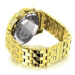 Iced Out LUXURMAN Mens Diamond Watch 1.25Ct Yell-2