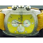 Bubble Loop Yellow Face W/ 2.50Ct Diamonds Watch-2