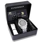 Mens LUXURMAN Watches: Real Diamond Watch 1.25Ct-4