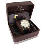 Centorum Mens Chronograph Diamond Watch  89682 4